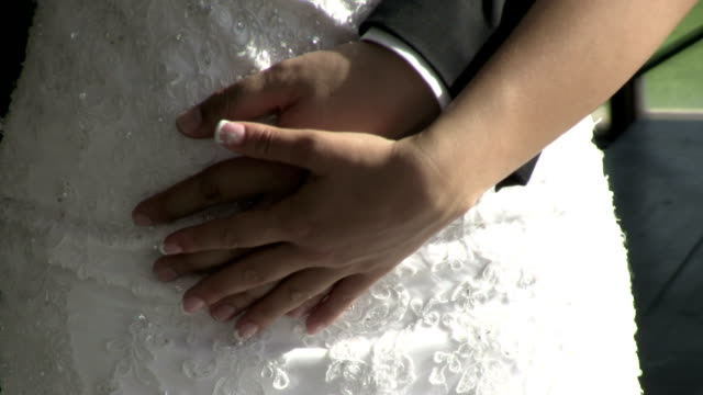 Caressing hand video