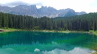 Carezza Lake - Trentino - Italy video
