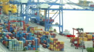 Cargo container shipping video