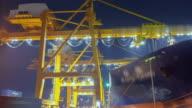 Cargo Container Unloading video