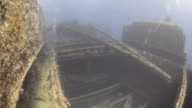Cargo Holds of a Shipwreck video