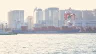 Cargo sea port -4K- video