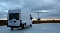Cargo van video