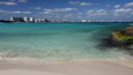 Caribbean sandy beach video