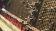 Carillon mechanism close up video