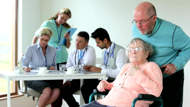 Caring for the Elderly video