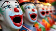 Carnival game - Clowns video