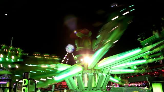 Carousel at night video