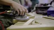 Carpenter Sanding video