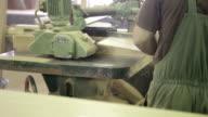 Carpenters in workshop video