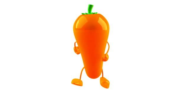 Carrot running video