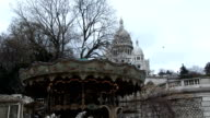 carrousel at Montmartre video