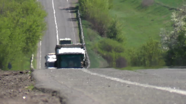 Cars are driving on the highway. video