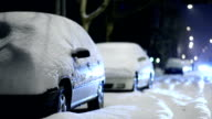 Cars in the Snow video