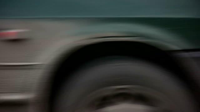 cars on road closeup video