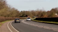 Cars, Vans, Lorries and Traffic on Busy Road - Transportation Backgrounds video