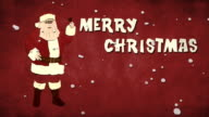 Cartoon Santa Claus - HD Loopable video