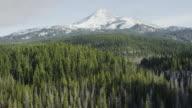 Cascade Mountain Range South Sister, Bend, Oregon video