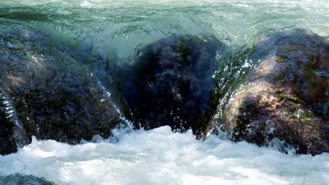 Cascade on the Mountain River video