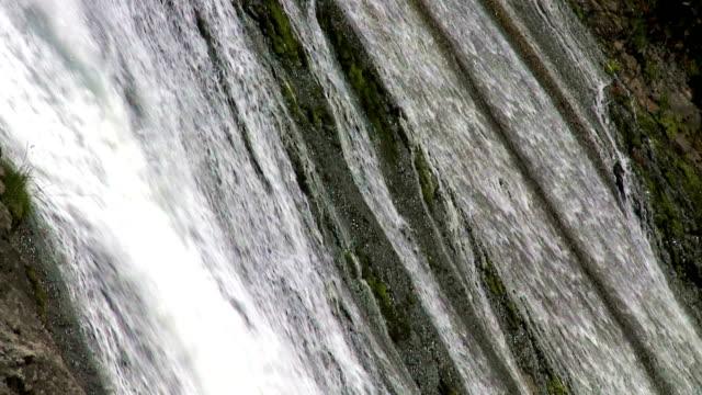 Cascade. Slow motion video
