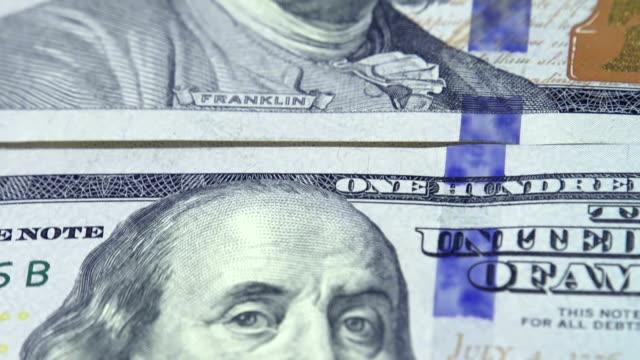 Cash 100 Dollar Bills video