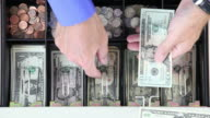 Cash Drawer From Above video