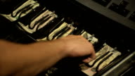 Cash Register Transaction video