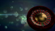 Casino Roulette loopable video