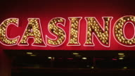 Casino sign video