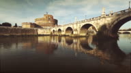 Castel Sant'Angelo and Tiber River video