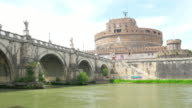 Castel Sant'Angelo, Castle of the Holy Angel, Rome, Italy video
