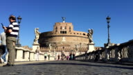 Castel Sant'Angelo in Rome, Italy video