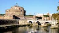 Castel Sant'Angelo, Rome (HD) video