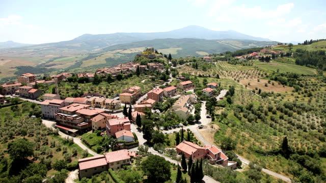 Castiglione d'Orcia town. Tuscany, Italy video