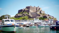 Castle and habour video