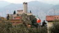 Castle in Malcesine, Italy video