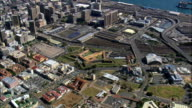 castle of good hope wide - Aerial View - Western Cape,  City of Cape Town,  South Africa video