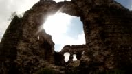 castle of the knights of Templar the oldest in Transcarpathia castle ruins video