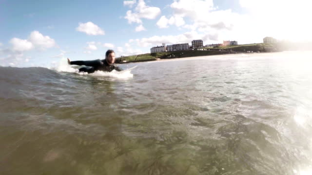 Catching a Wave video