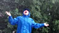 Catching raindrops#1 video