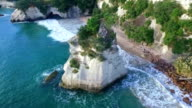Cathedral Cove Beach video