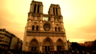 Cathedral Notre Dame in Paris video