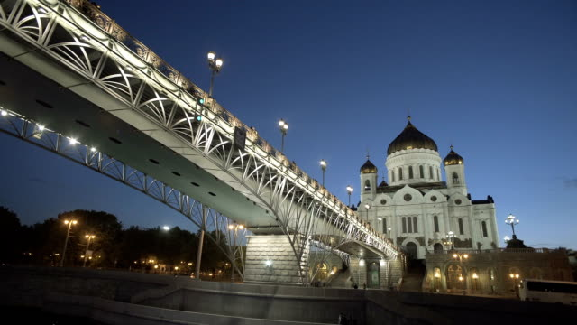 Cathedral Of Christ The Saviour And Bridge video