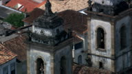 Catedral De Nossa Senhora Do Carmo  - Aerial View - Minas Gerais, São João del Rei, Brazil video