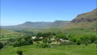 Cathedral Peak Hotel - Aerial View - KwaZulu-Natal,  South Africa video