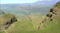 Cathedral Peak Hotel  - Aerial View - KwaZulu-Natal,  uThukela District Municipality,  Okhahlamba,  South Africa video