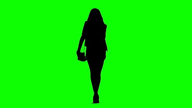 Catwalk Model Silhouette video