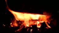 HD Cauldron over burning Forge video