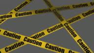 (Loop + Alpha) Caution, Warning Sign video