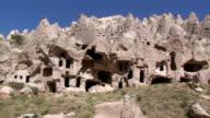 Cave houses, Cappadocia, Turkey video